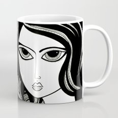 The Girl and her Bunny Coffee Mug