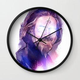 Third Eye Alan Watts Light Being Art Wall Clock