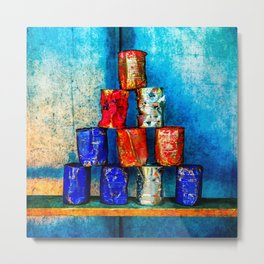 The Second Life Of Soup Cans Metal Print