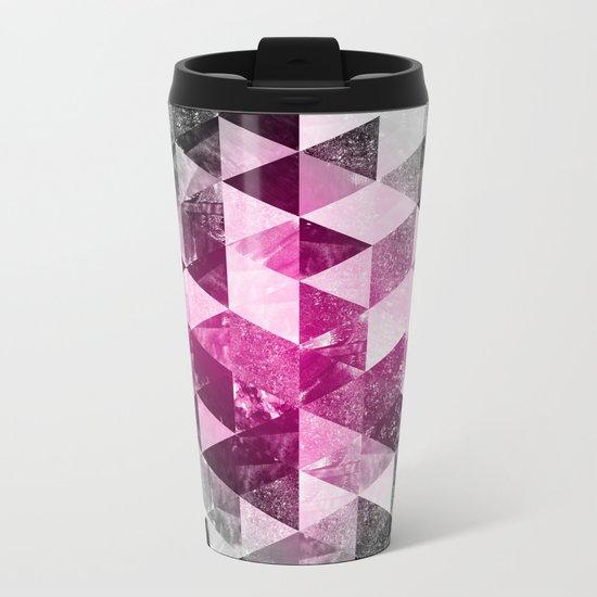 Abstract Geometric Background #4 Metal Travel Mug
