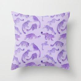 Cloud Leopards Throw Pillow
