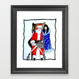 SANTA BABY-Exclusive Framed Art Print