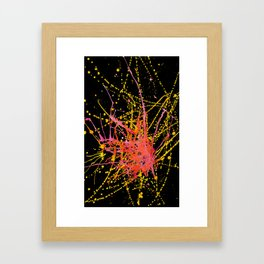 Darkness There, and Nothing More. Framed Art Print