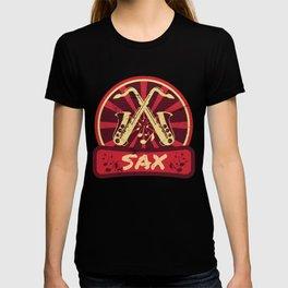 Saxophone Propaganda | Music Instrument Jazz Gift T-shirt