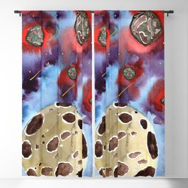 asteroids 2 Blackout Curtain