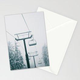 Ski Lift II Stationery Cards