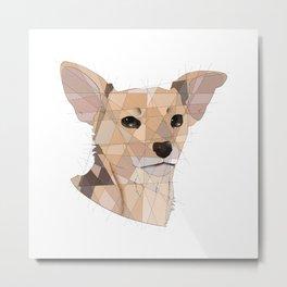 Monkey the Dog Metal Print