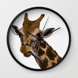 la jirafa Wall Clock