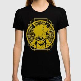 Stained Glass - My Hero Academia - Katsuki Bakugo T-shirt