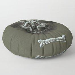 Pug Dog Cute Floor Pillow