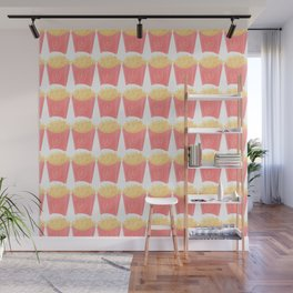 Pastel  Fries Wall Mural