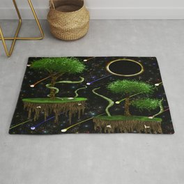 Destructive Habits Rug