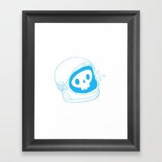space doodle Framed Art Print
