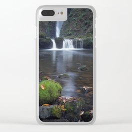 Sgwd Einion Gam Waterfall Country Clear iPhone Case