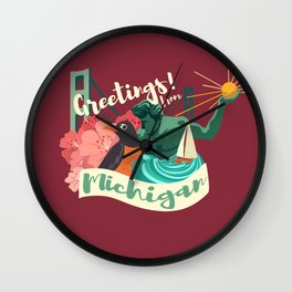 The Great State Wall Clock