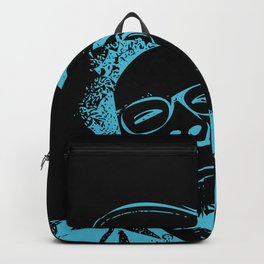 Blue Neon Backpack