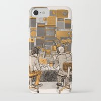 lab iPhone & iPod Cases featuring Radio Lab by Bony Fingers