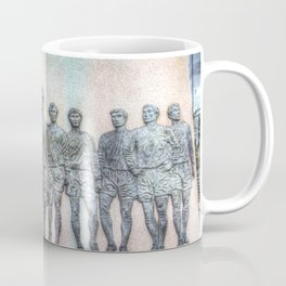 Bobby Moore Statue England 1966 Coffee Mug