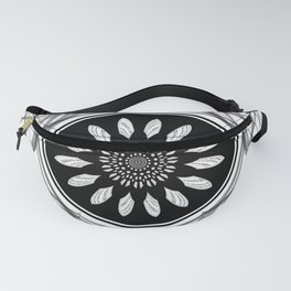 Monochrome center Fanny Pack