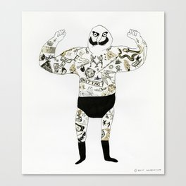 strongman Canvas Print