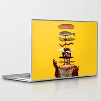 will graham Laptop & iPad Skins featuring The Graham Brand by Zenyr
