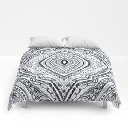 Black & White Diamond Comforters