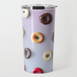 Colorful Donuts Travel Mug