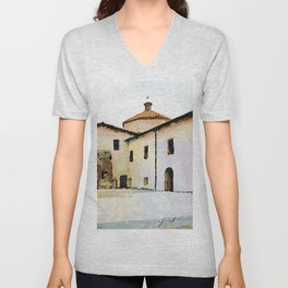 Catanzaro: convent Unisex V-Neck