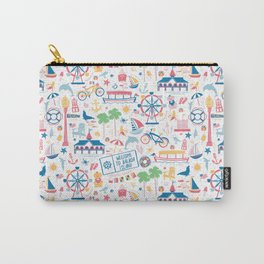 Newport Harbor Doodles Carry-All Pouch