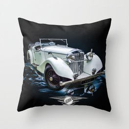 Jenson 1937 Throw Pillow