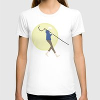 jack frost T-shirts featuring Jack Frost by Lena Lang