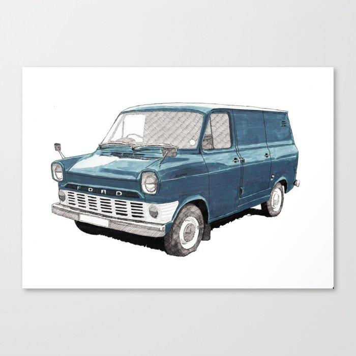 Ford Transit Mark 1 Canvas Print