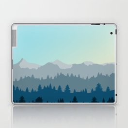 Face This Mountain (No Text) Laptop & iPad Skin