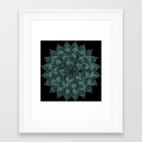 emerald Framed Art Prints featuring emerald by Sproot
