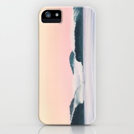 Misty Morning Crossing iPhone Case