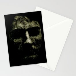 Creepy Portrait Artwork Stationery Cards