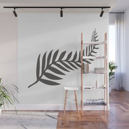 Silver Fern of New Zealand Wall Mural