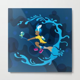 Inkling Delivery Service Metal Print