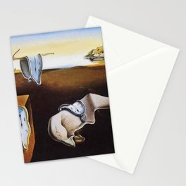 THE PERSISTENCE OF MEMORY - SALVADOR DALI Stationery Cards
