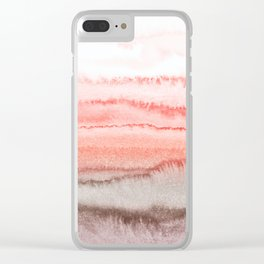 WITHIN THE TIDES CORAL DAWN Clear iPhone Case