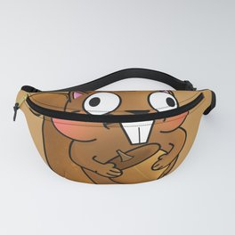 Silly Squirrel Fanny Pack
