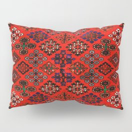 -A30- Red Epic Traditional Moroccan Carpet Design. Pillow Sham