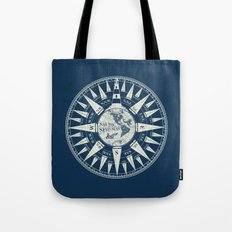 Sailors Compass Tote Bag