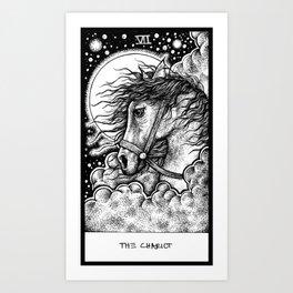 The Chariot Tarot Art Print