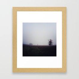 Follow the Trees Framed Art Print