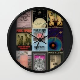 Poster Tributes Wall Clock