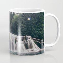 Lower Lewis River Falls Coffee Mug