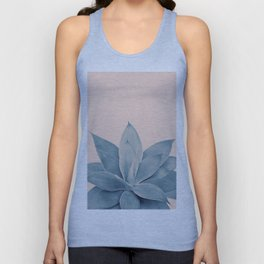 Blush Agave #3 #tropical #decor #art #society6 Unisex Tank Top