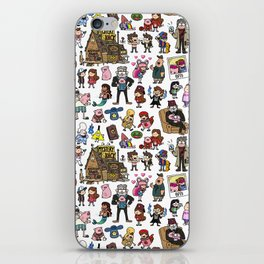 Cute Gravity Falls Doodle iPhone Skin
