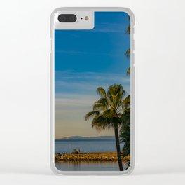 Wedge Sunrise Clear iPhone Case